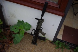 Toujours et encore le L85a2 carbine.